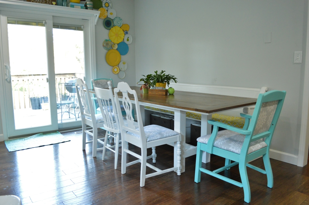 Finished Dining Room Chairs