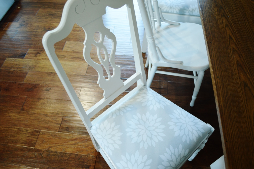 Finished Dining Room Chairs 4