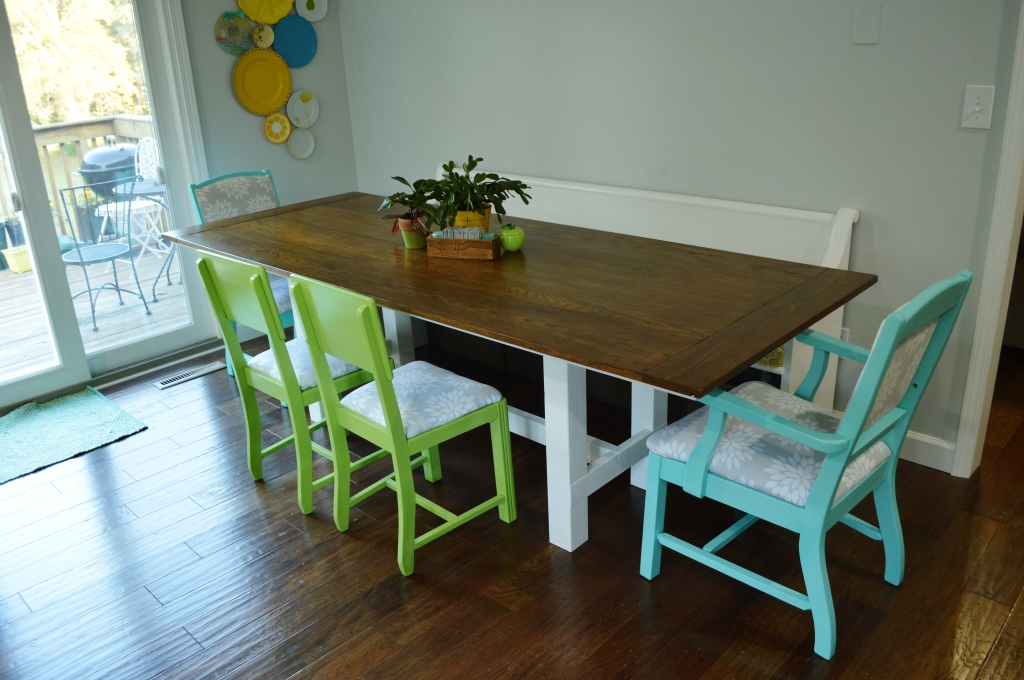Finished Dining Room Chairs 5