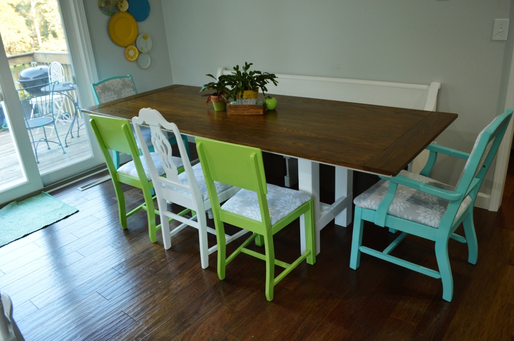Finished Dining Room Chairs 6