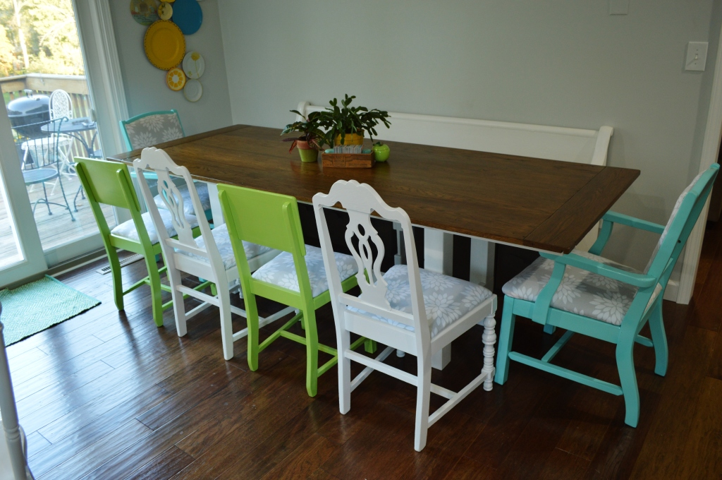 Finished Dining Room Chairs 8