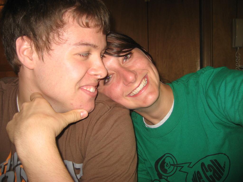May 2009 wyatt and mel