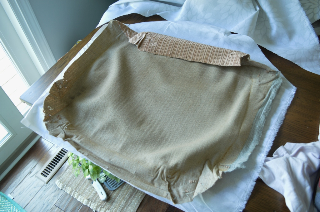 Reupholstering chair cushions 5