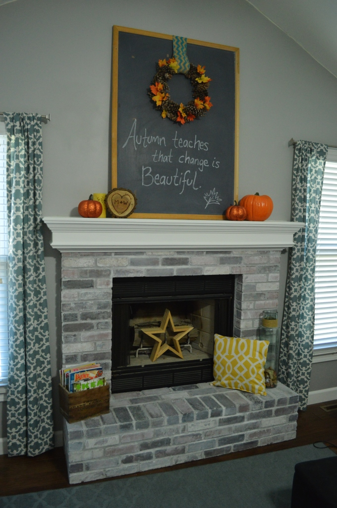 Simple Fall Mantle 2015