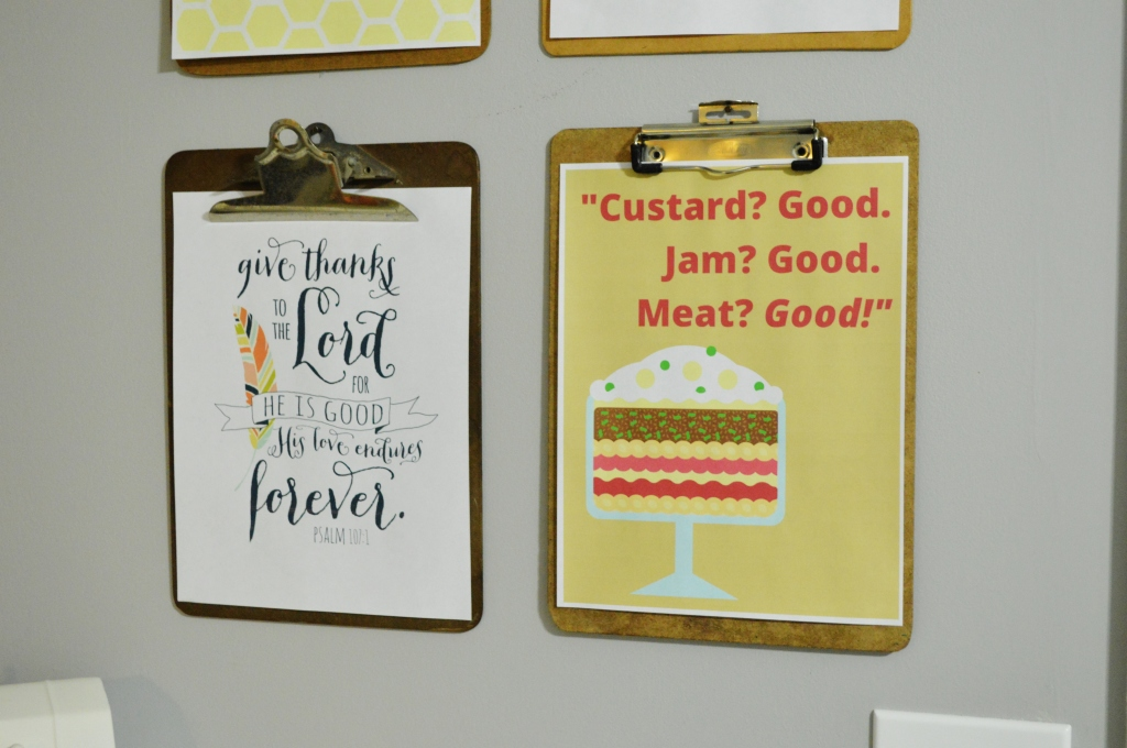 Thanksgiving Clipboard Printables 2