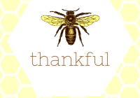 bee thankful 2