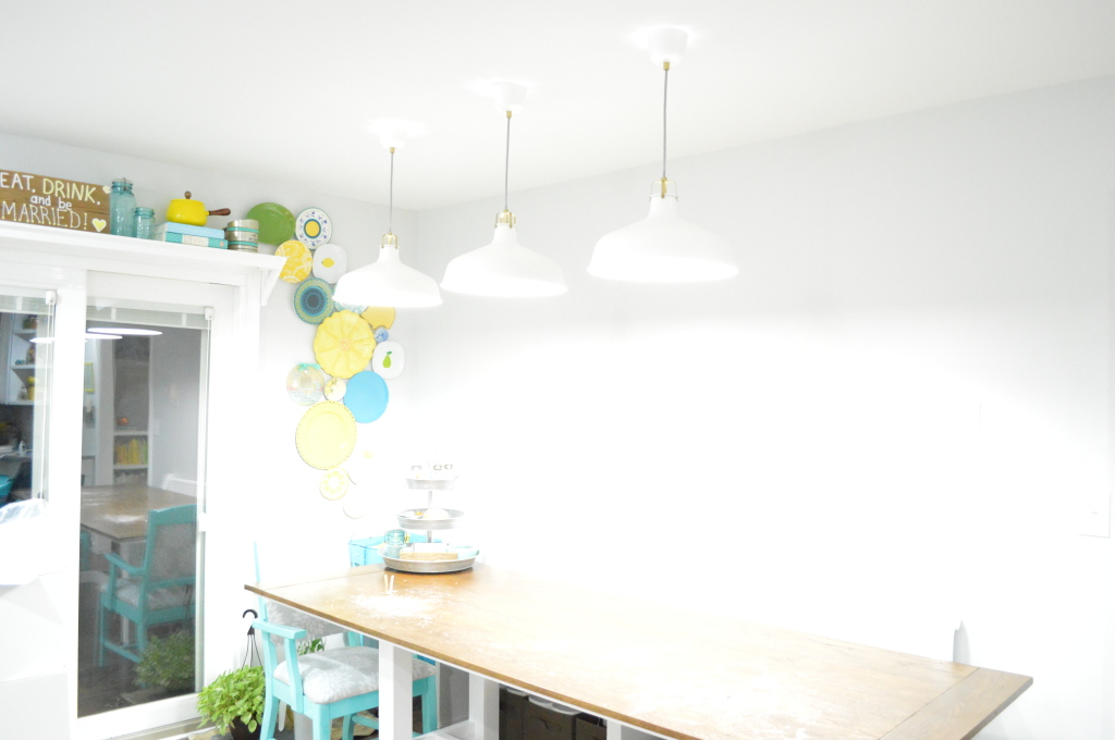 dining table pendant lights bright