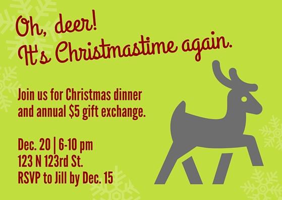 invite christmas