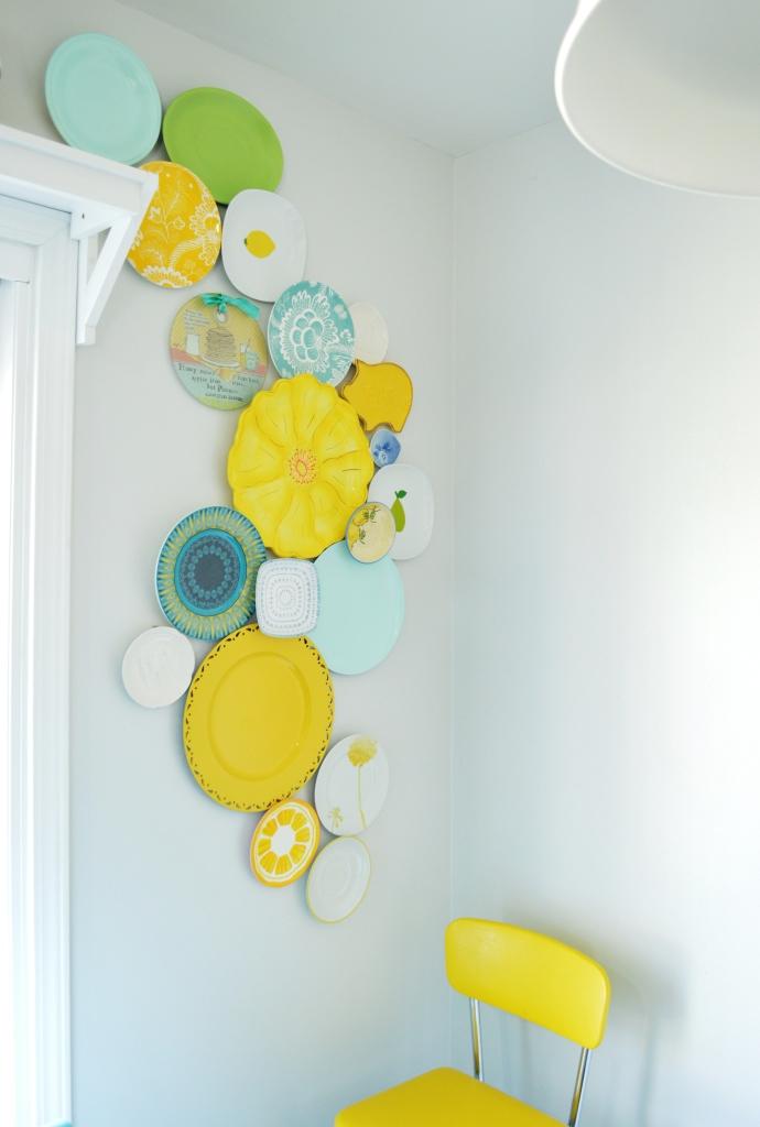 Kitchen Plate Wall Update 6