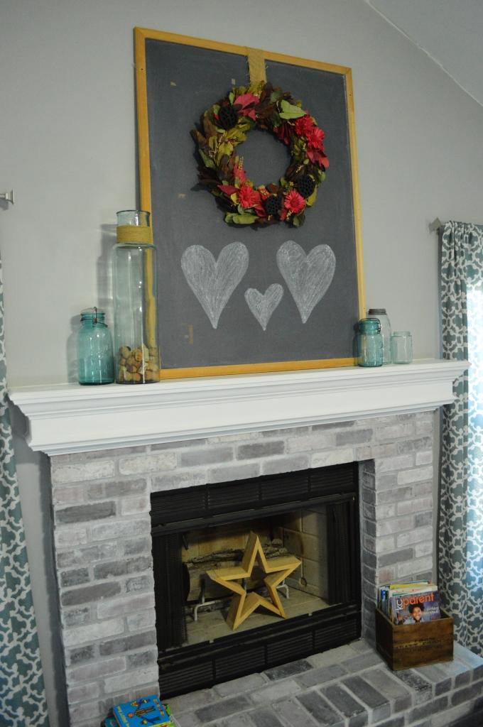 valentine mantle decorations 2016