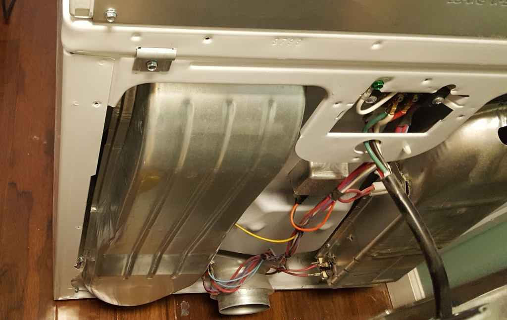 Cleaning and Fixing a Dryer 3