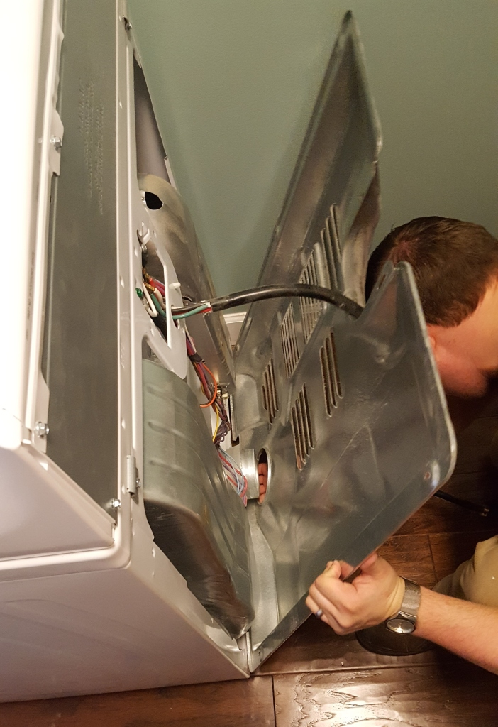 Cleaning and Fixing a Dryer 5