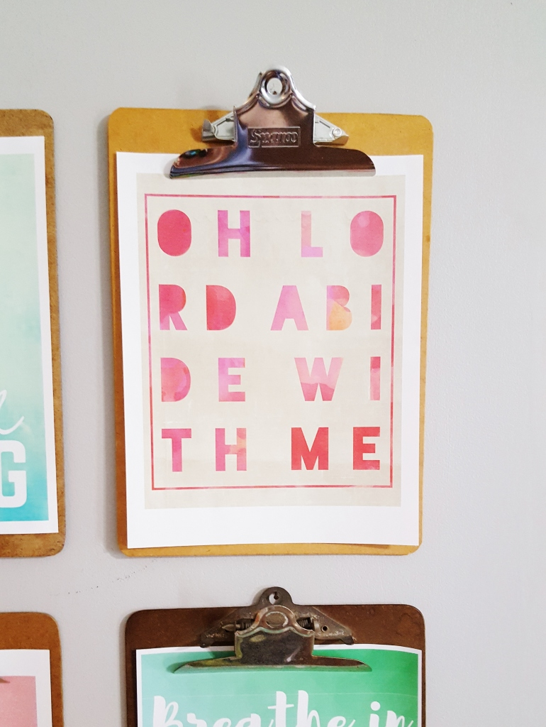 Spring Clipboard Prints