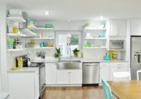 Finished White Kitchen Renovation 2