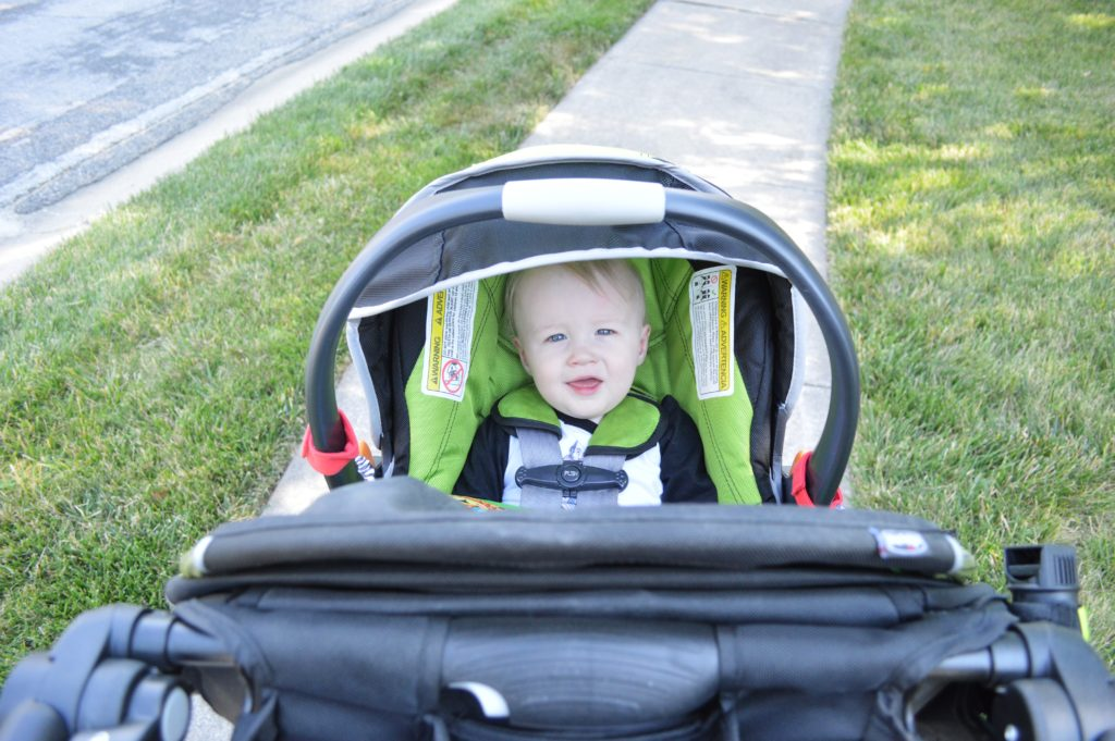 Chicco Activ3 Jogging Stroller Review with Infant Carrier with Will