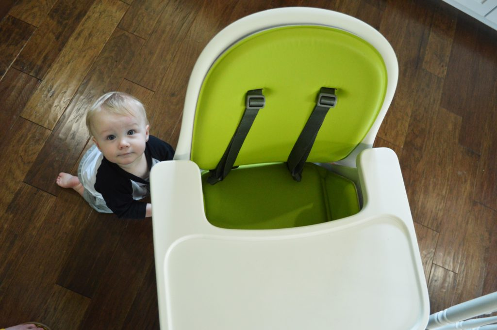 Oxo Tot Sprout High Chair Review with Will