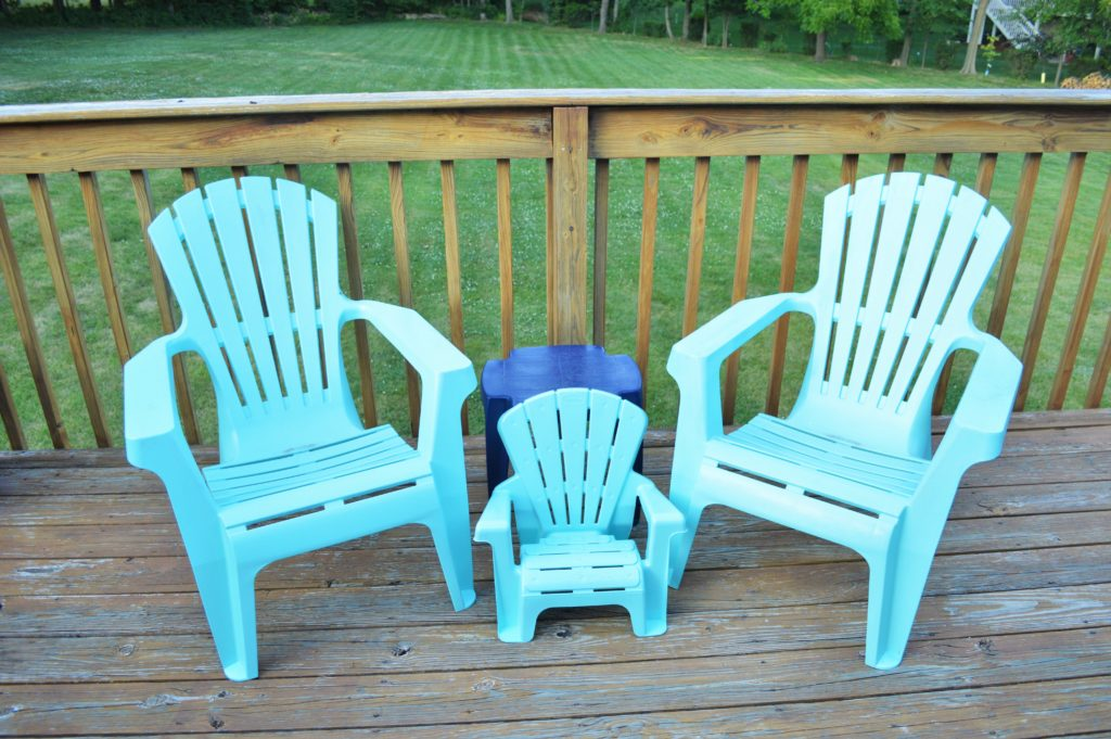 Turquoise Baby Deck Chair