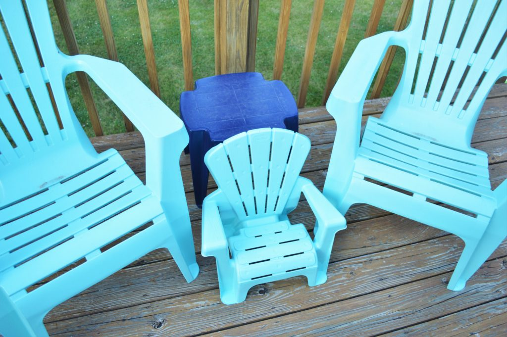 Turquoise Baby Deck Chair 2