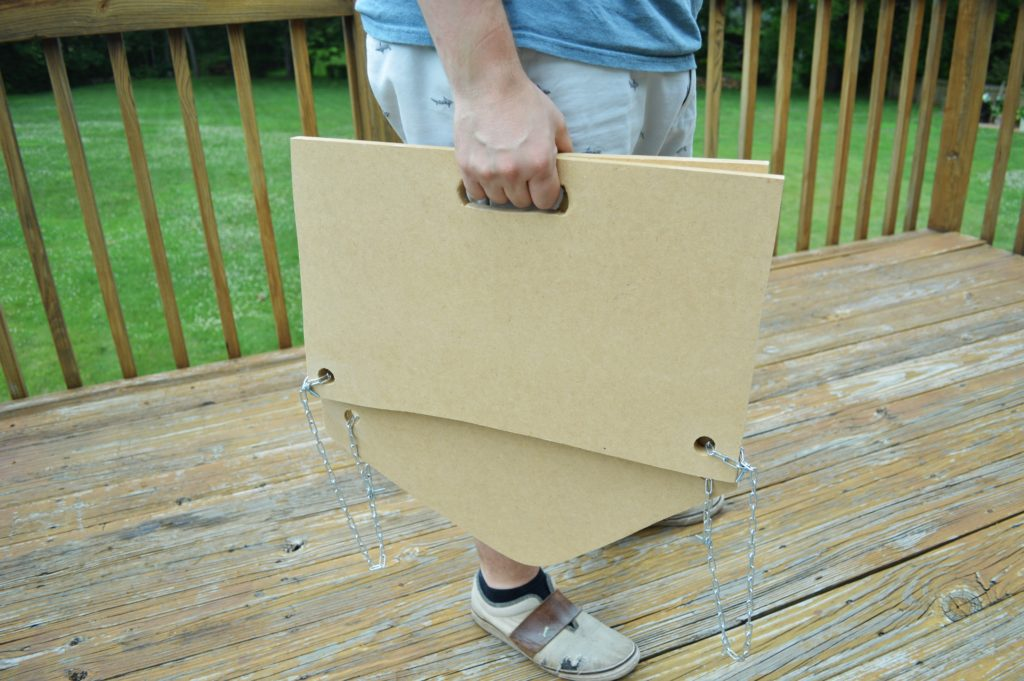 DIY Foldable Stadium Seats with Handles