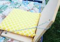 DIY Stadium Seats for Blanket Seating