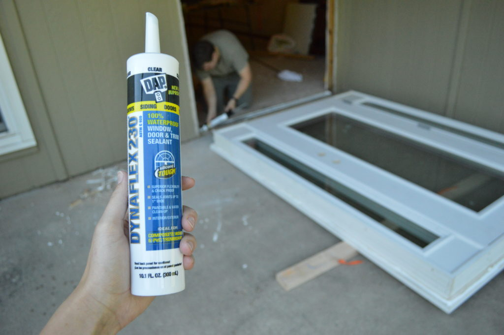 new-basement-door-caulk-seal