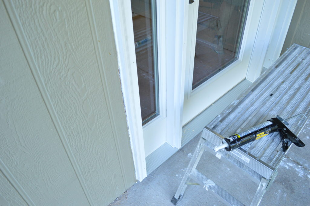 new-basement-door-caulking-outside