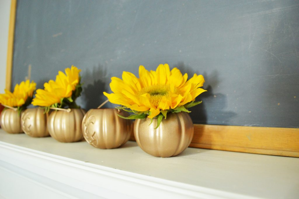 diy-rose-gold-hallowen-flower-pot-pumpkins