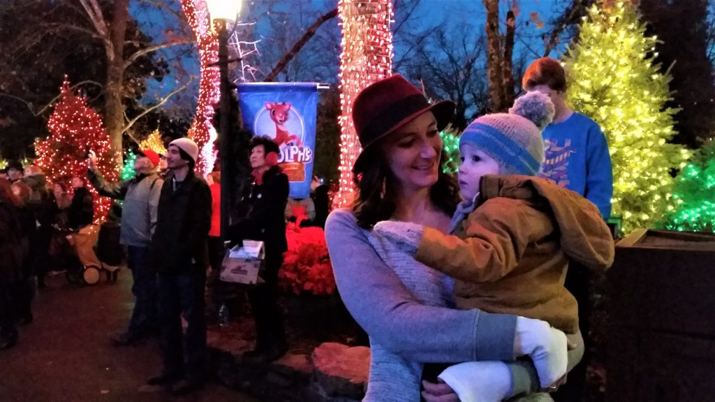melissa-and-will-at-sdc-lights-branson-christmas