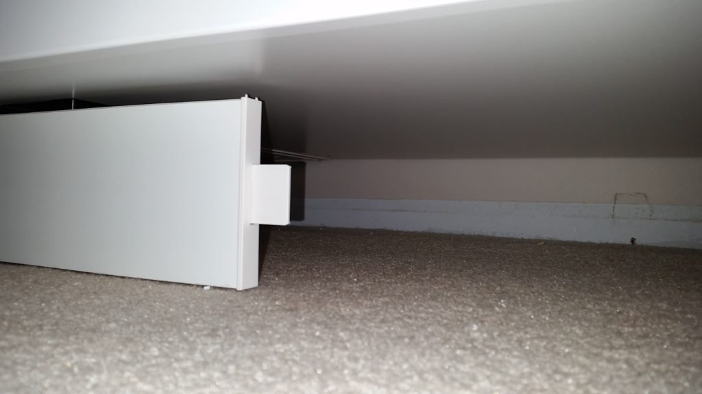 IKEA Cabinet Toe Kick Hack Tab