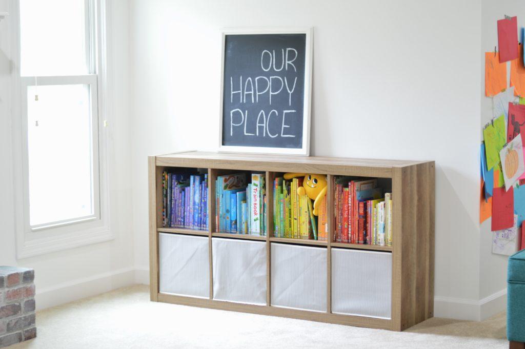 Better Homes and Gardens Cube Bookshelf Family Room Book Nook
