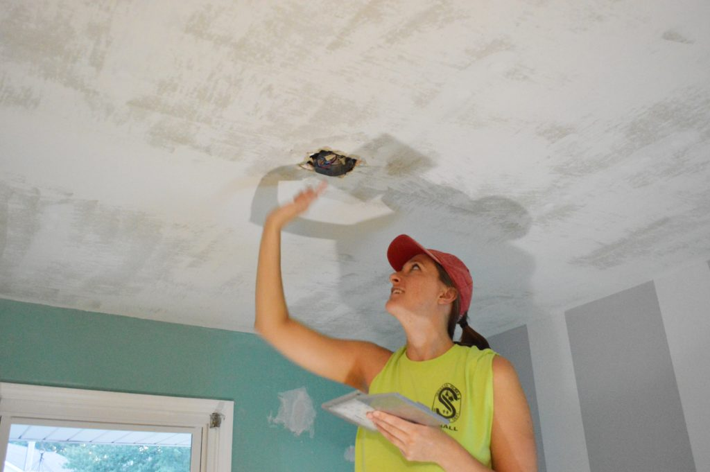 Patching Nursery Ceiling