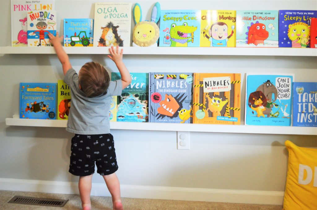 Will reaching for Usborne Books