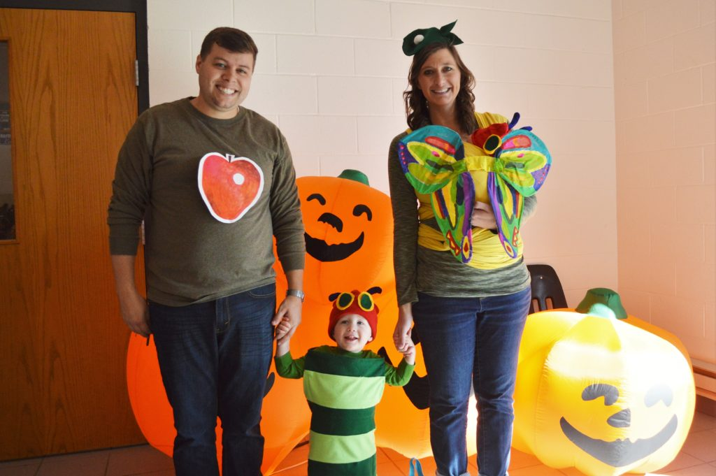 halloween family hungry caterpillar costumes