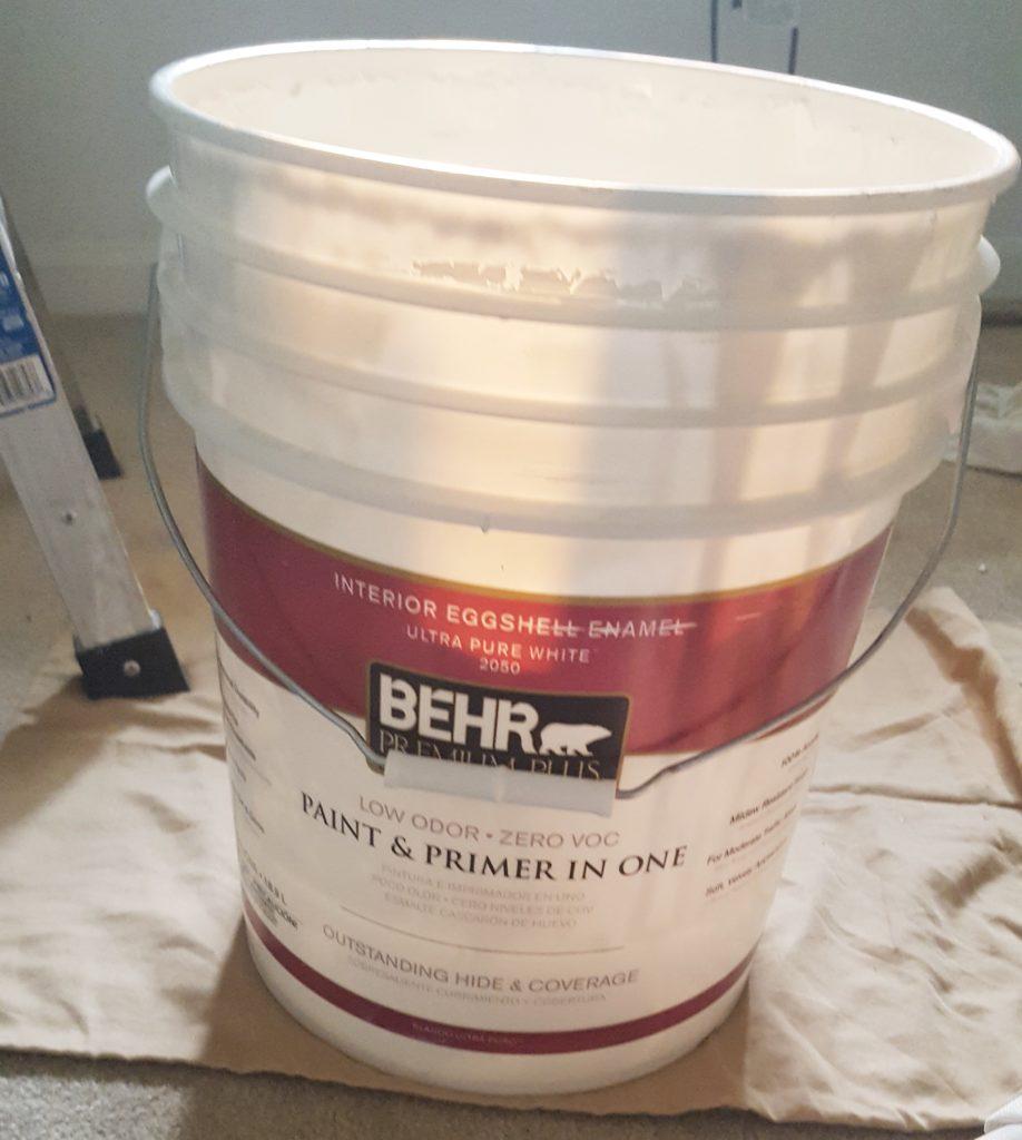 nursery white paint