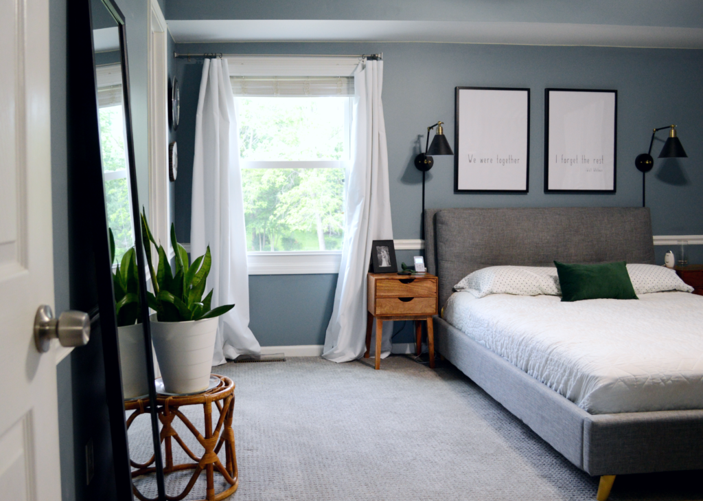 Simplifying Our Bedroom
